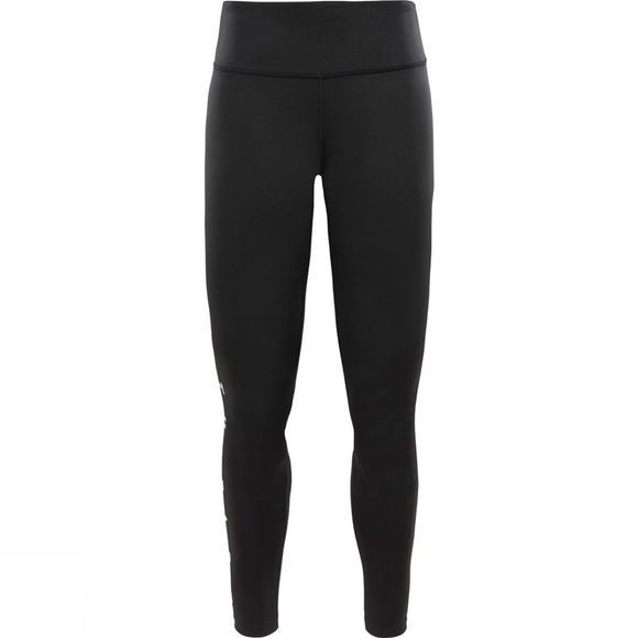 The North Face Womens 24/7 Graphic Mid Rise Tights TNF Black