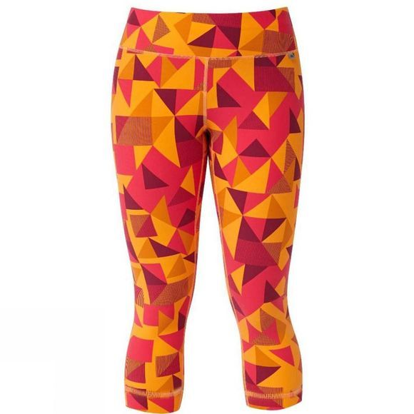 Mountain Equipment Womens Cala Crop Leggings Orange Sherbert
