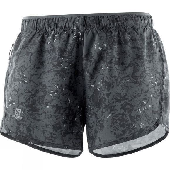 Salomon Womens Agile Shorts Ebony/Black