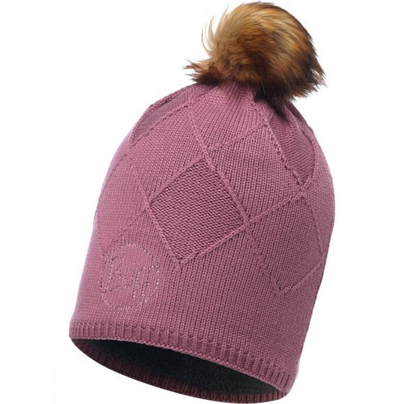 Buff Womens Knitted Hat Stella Chic Heather Rose