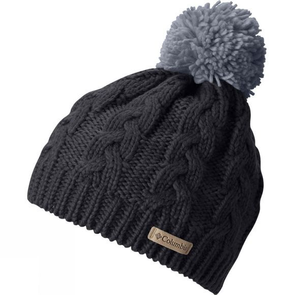 Columbia Womens In-Bounds Beanie Black / Tradewinds Grey