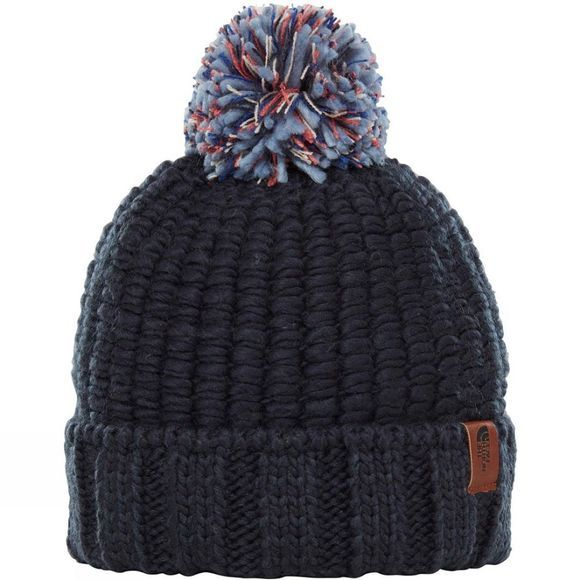 The North Face Cozy Chunky Beanie Urban Navy/ Faded Rose