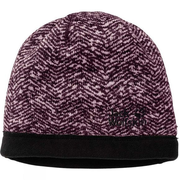 Jack Wolfskin Womens Belleville Crossing Cap Burgundy All Over