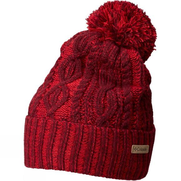 Columbia Womens Blizzard Pass Beanie Rich Wine