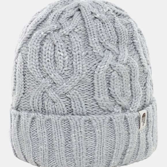 The North Face Cable Minna Beanie TNF Light Grey Heather