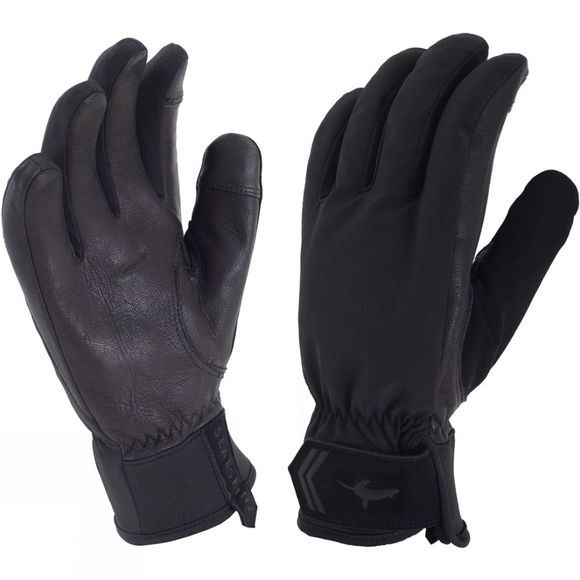 SealSkinz Womens All Season Glove Black/Charcoal