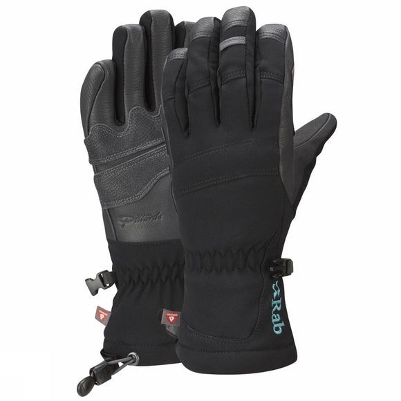 Rab Womens Baltoro Glove Black