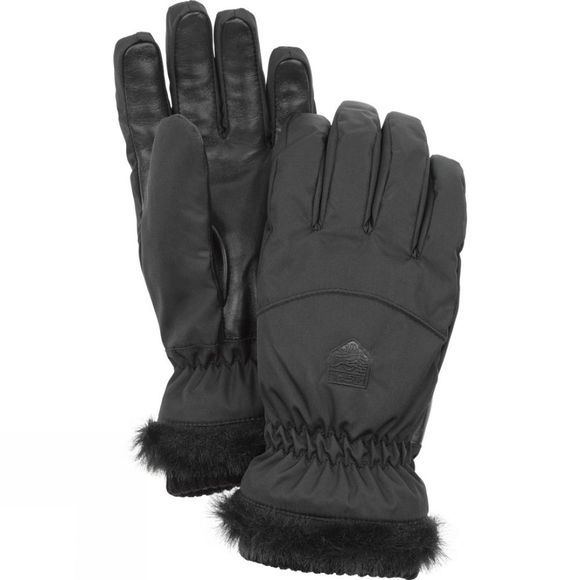 Hestra Womens Primaloft Winter Forest Glove Black