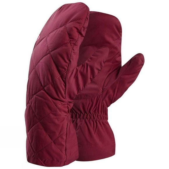 Mountain Equipment Womens Fuse Mitt Gloves Cranberry
