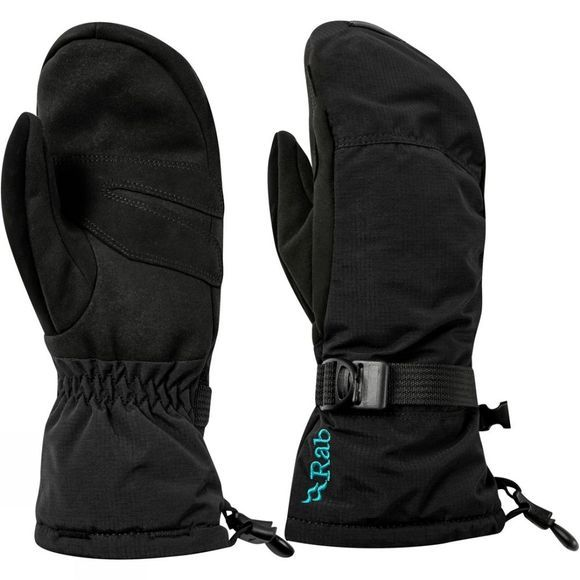 Rab Womens Storm Mitt Black