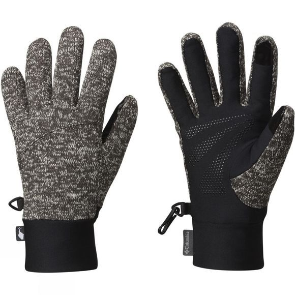 Columbia Womens Darling Days Glove Shark / Black