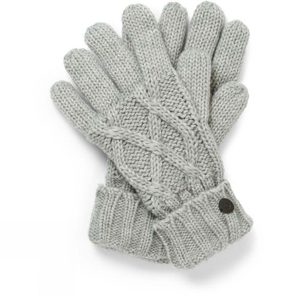 Craghoppers Womens Dolan Knit Gloves Soft Grey Marl