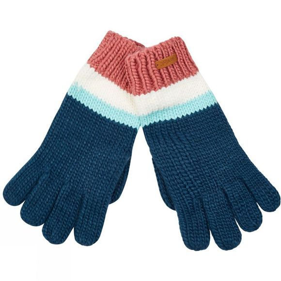 Weird Fish Womens Tasha Gloves Deep Sea Blue