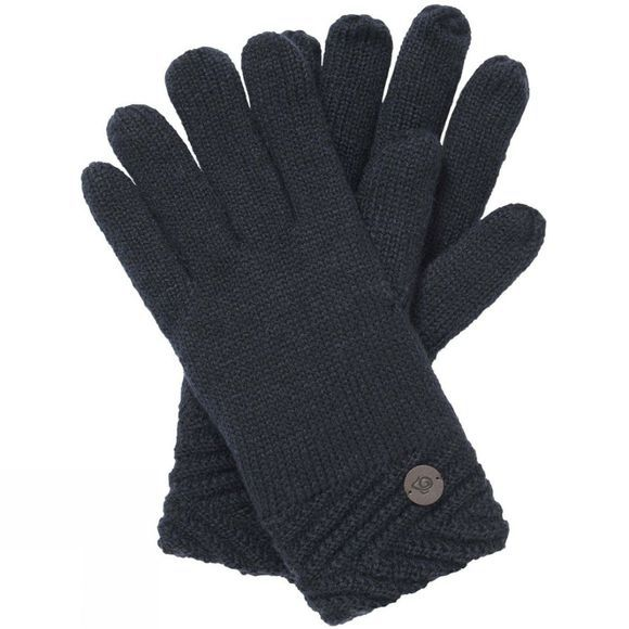 Craghoppers Womens Maria Knit Glove Blue Navy