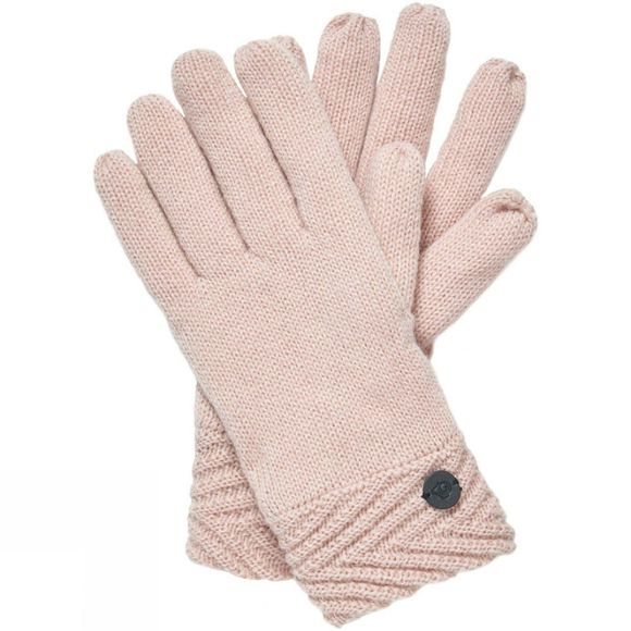 Craghoppers Womens Maria Knit Glove Blossom Pink