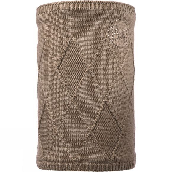 Buff Stella Neckwarmer Brown Taupe