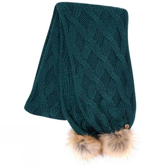 Brakeburn Cable scarf Teal
