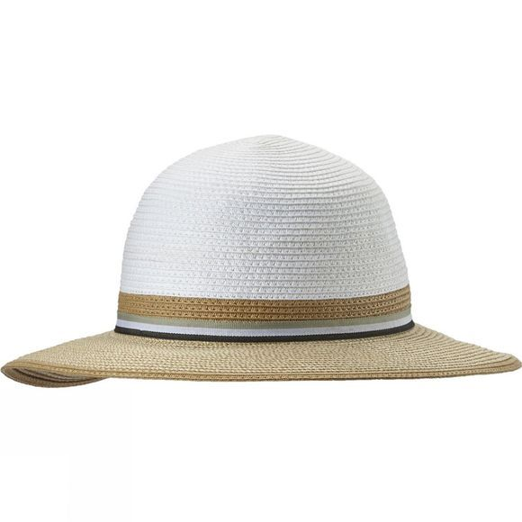 Columbia Womens Spring Drifter Straw Hat White / Natural