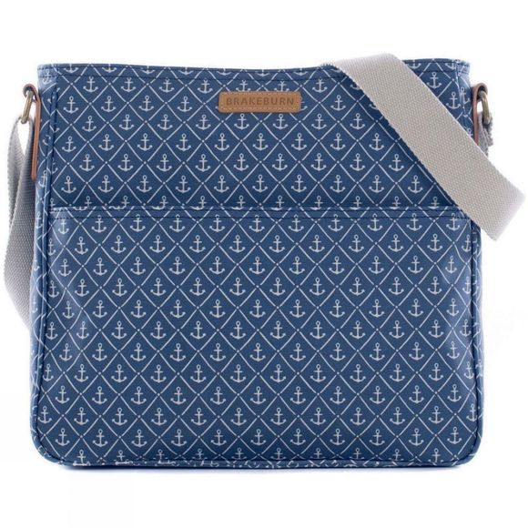 Womens Anchors Large Saddle Bag
