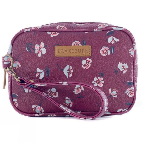 Womens Floating Floral Small Wash Bag
