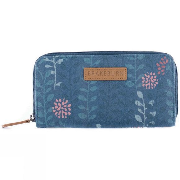 Brakeburn Womens Trailing Leaf Purse Teal