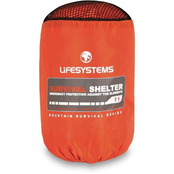 Lifesystems Survival Shelter 2 Orange