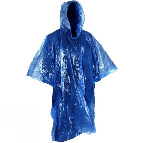 Blue Mountain Adult Emergency Poncho .
