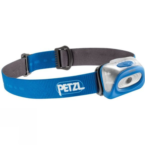 Petzl Tikka Headtorch Victoria Blue