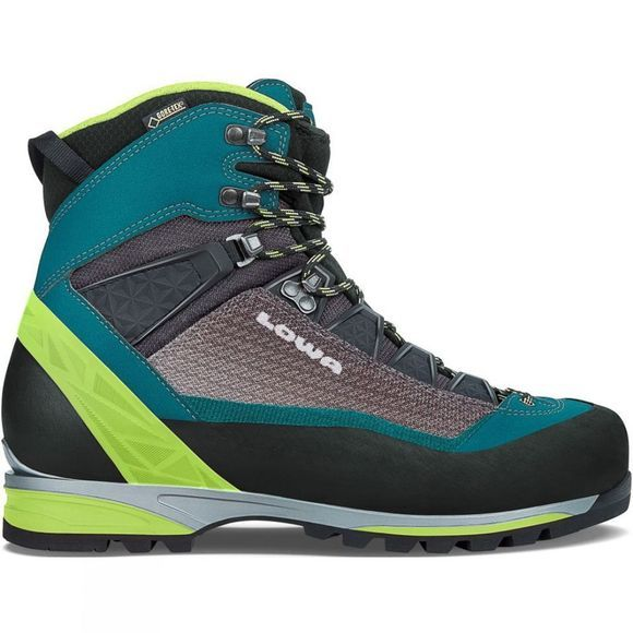 Lowa Mens Alpine Pro GTX Boot Petrol / Lime