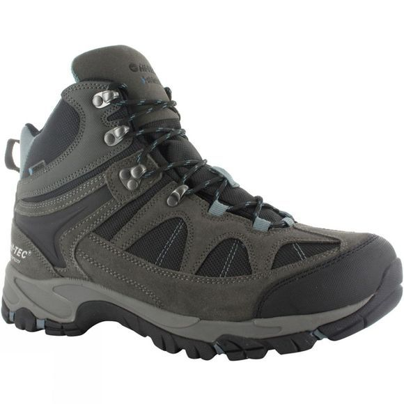 Hi-Tec Mens Altitude Lite I WP Boot Gull Grey / Black / Goblin Blue