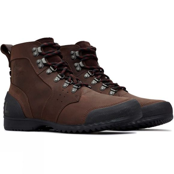 Sorel Mens Ankeny Mid Boot Cattail/Black
