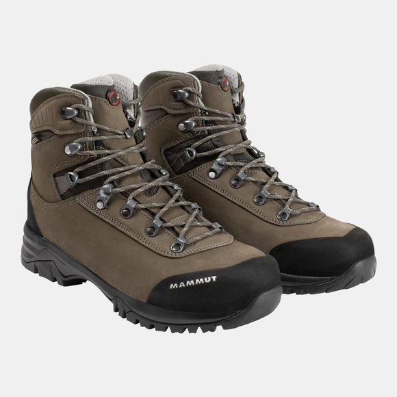 Mammut Mens Trovat Advanced High GTX Boot Bark/Grey