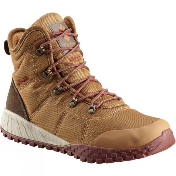 Columbia Mens Fairbanks Omni-Heat Boot Elk/ Deep Rust
