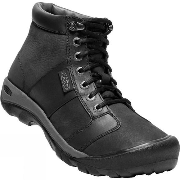 Keen Mens Austin Mid Waterproof Boot Black