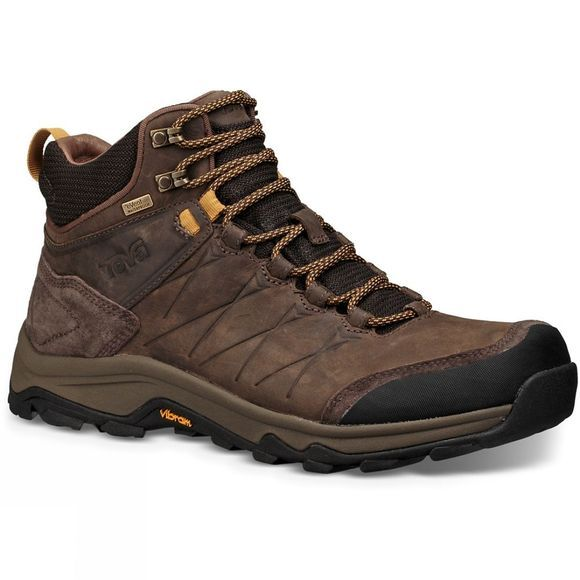 Teva Mens Arrowood Riva Mid Waterproof Boot Turkish Coffee
