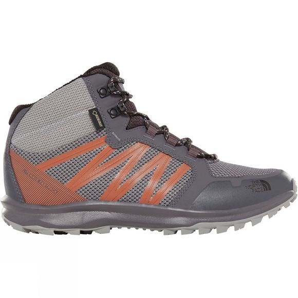 The North Face Men's Litewave Fastpack Mid GTX® Boots Griffin Grey/Scarlet Ibis