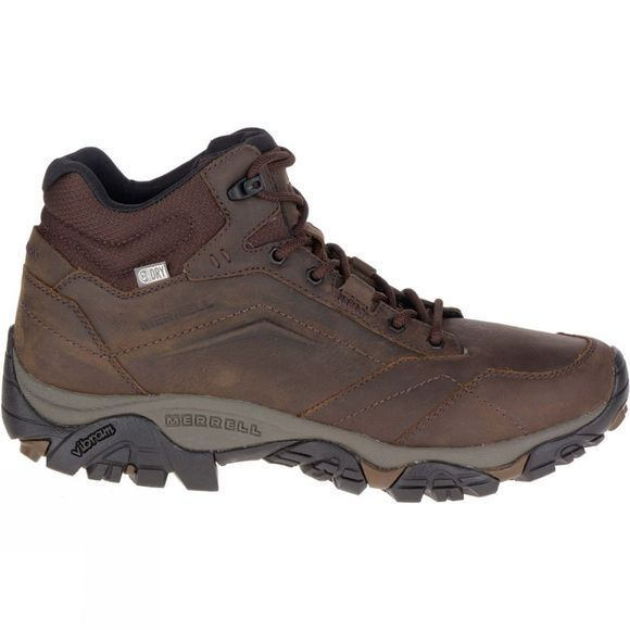 Merrell Mens Moab Adventure Mid WTPF Boot Dark Earth