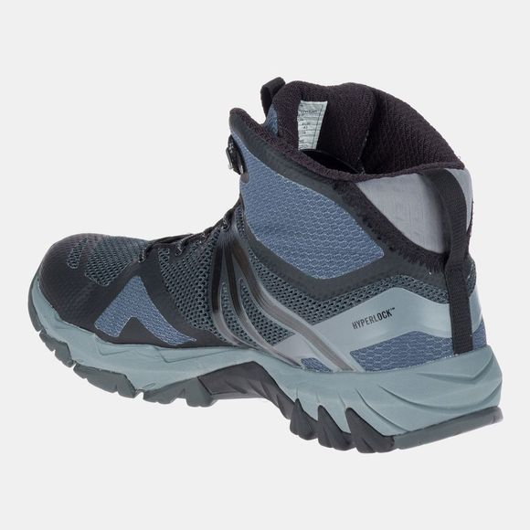 Merrell Mens MQM Flex Mid Boot Grey/Black