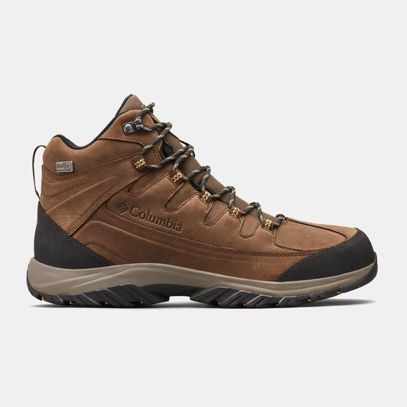 Columbia Mens Terrebonne Ii Mid Outdry  Boots Mud/ Curry