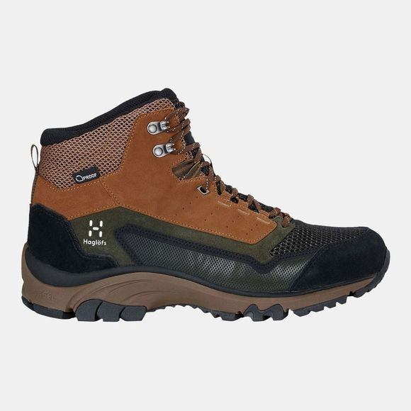 Haglofs Mens Skuta Mid Proof Eco Boots Oak/Deep Woods
