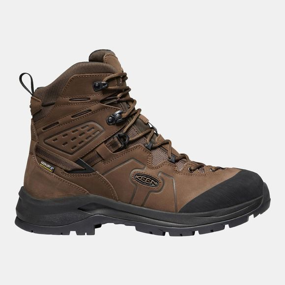Keen Mens Karraig Waterproof Boot Dark Earth/Raven