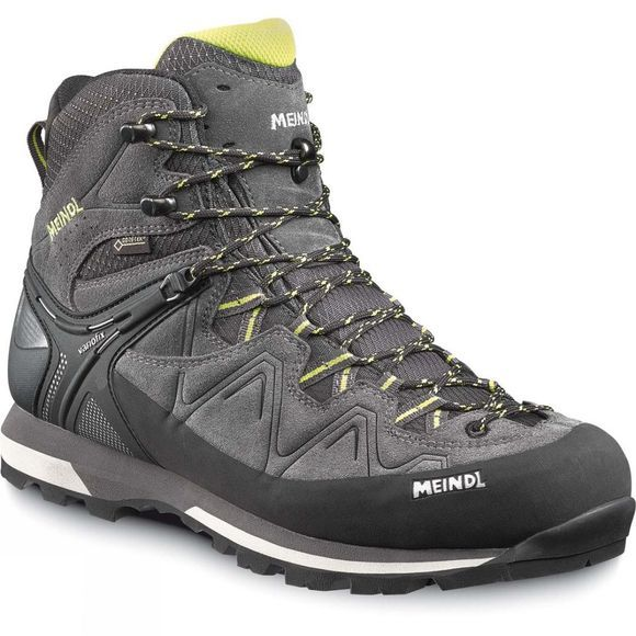 Meindl Mens Tonale GoreTex Walking Boots  Anthracite/Lemon