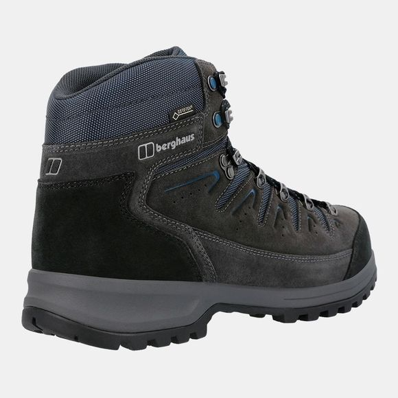 Berghaus Mens Explorer Trek Tech Boot Carbon / Blue