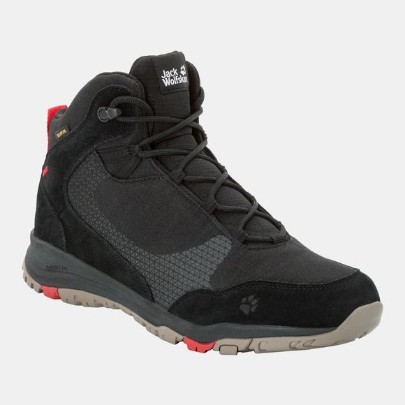Jack Wolfskin Activate Xt Texapore Mid Black / Red