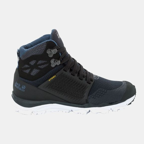 Jack Wolfskin Womens Trail Invader Shield Mid Dark Blue / Black