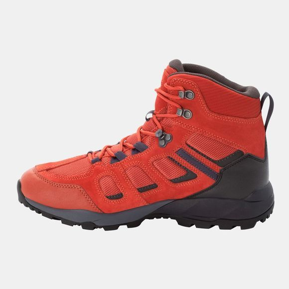 Jack Wolfskin Vojo Hike Xt Texapore Mid Dark Orange / Black