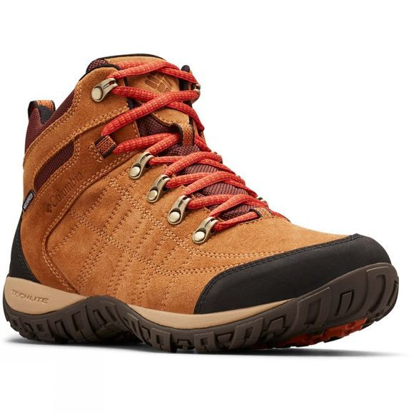 Columbia Mens PEAKFREAK VENTURE S II MID Waterproof Boot Elk/ Flame