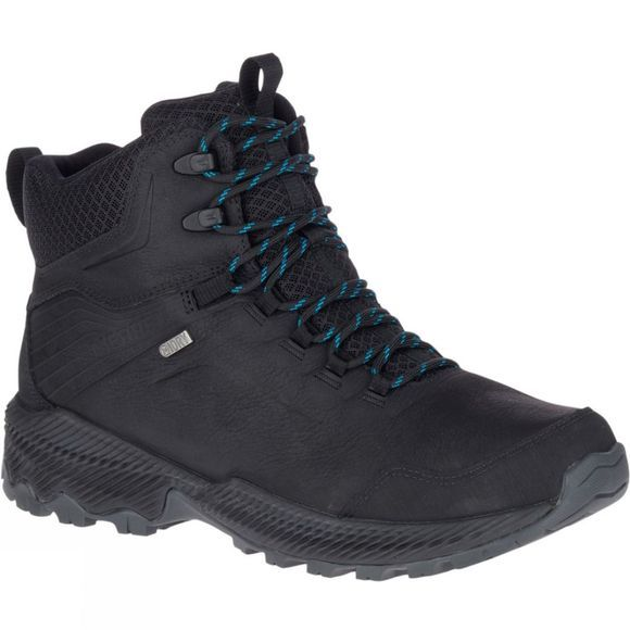 Merrell Forestbound Mid Waterproof Boot Black
