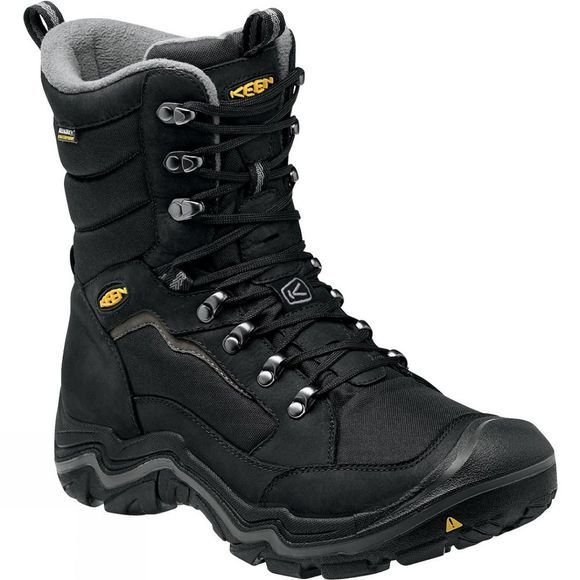 Keen Mens Durand Polar Boot Black / Gargoyle