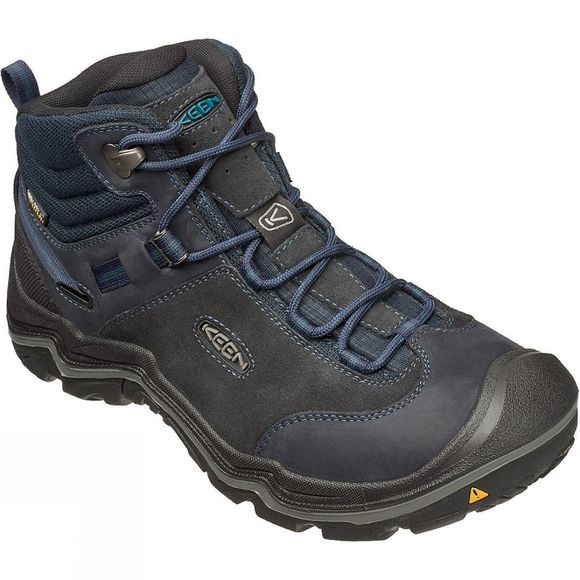 Keen Mens Wanderer Mid WP Boot Dark Sea / Night